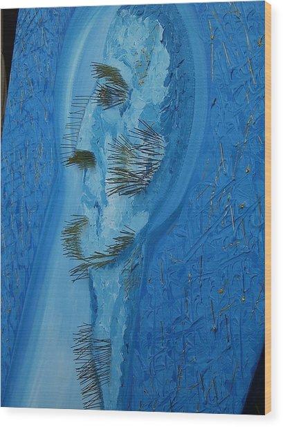 The Indifferent Of Beholder -fragment Wood Print by Svetlana Vinokurtsev