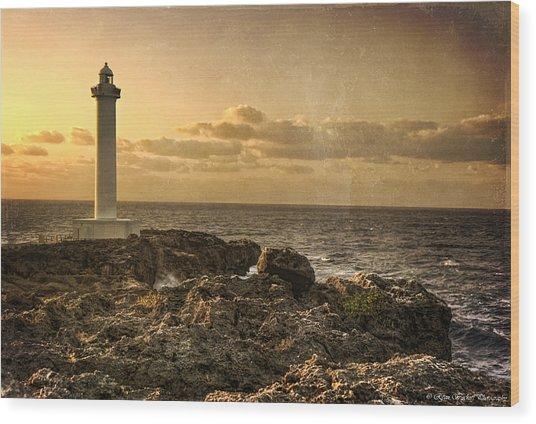 The Lighthouse Wood Print