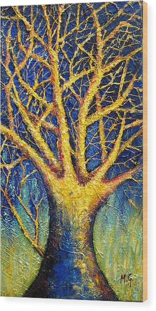 Wonder Tree Wood Print