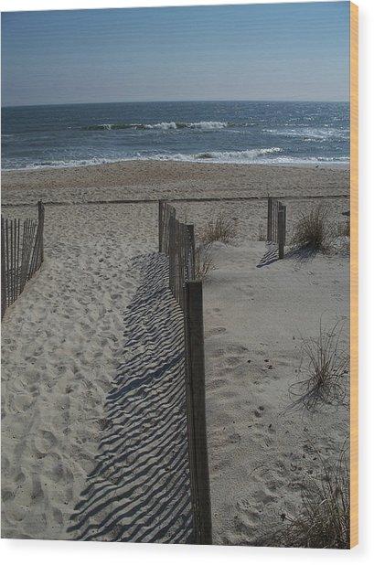 Wrightsville Beach Wood Print