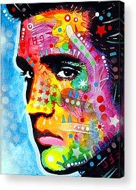 Pop Icon Paintings Acrylic Prints