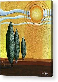 Sunny Acrylic Prints