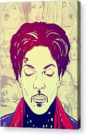 Princes Drawings Acrylic Prints