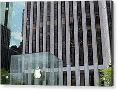 Apple Store In 5th Avenue, Manhattan Acrylic Print
