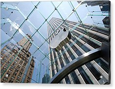 Apple Store In Manhattan Acrylic Print