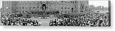 Commencement Georgetown University Acrylic Print