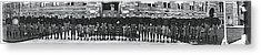 Georgetown Football Squad Washington Dc Acrylic Print