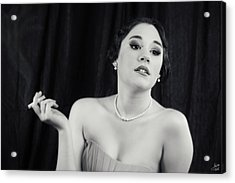 Acrylic Print featuring the photograph Hollywood Glamour by Lisa Knechtel
