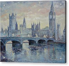 London Westminster Bridge Acrylic Print