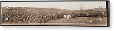 Mounted Generals Pershing & Dickman Acrylic Print by Fred Schutz Collection