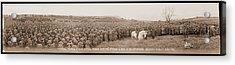 Mounted Generals Pershing & Dickman Acrylic Print