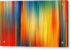 Shades Of Emotion Acrylic Print by Lourry Legarde