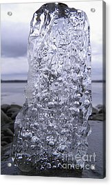 Acrylic Print featuring the photograph Captured Icy Tears by Sami Tiainen