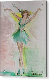 Acrylic Print featuring the painting Dance by Laurie L