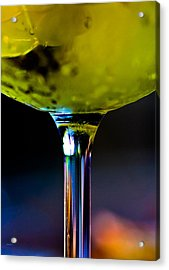 Fire And Ice Acrylic Print by Mitch Shindelbower