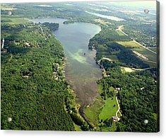 Acrylic Print featuring the photograph  C-013 Cedar - Little Cedar Lake Wisconsin by Bill Lang