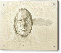 Left Hand Acrylic Print by Robert Martinez