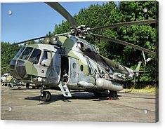 Mil Mi-17 Hip Acrylic Print by Tim Beach