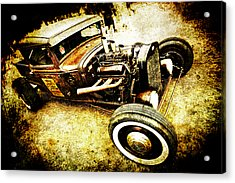 Rusty Rod Acrylic Print by Phil 'motography' Clark