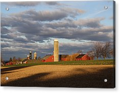 Shades Of Evening Acrylic Print by Doug Hoover