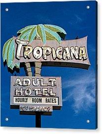 Tropicana Acrylic Print by Matthew Bamberg