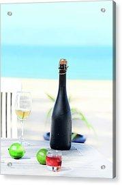 Wine  Acrylic Print by MotHaiBaPhoto Prints