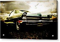 1965 Pontiac Bonneville Acrylic Print