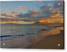 Maui Dawn Acrylic Print by Stephen  Vecchiotti
