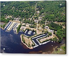 Acrylic Print featuring the photograph A-005 Afton Minnesota Harbors by Bill Lang