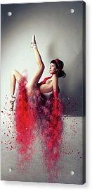 Aerobic Acrylic Print by Nichola Denny