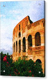 Afternoon In Rome Acrylic Print