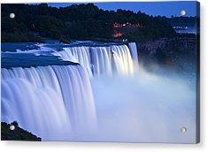 American Falls Niagara Falls Acrylic Print by Loriannah Hespe