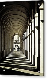 Arches Of Grand Theatre Acrylic Print by Mickaël.G