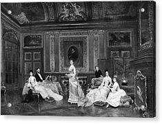 Astor Family 1878 Acrylic Print by Granger