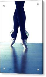 Ballet Feet 1 Acrylic Print by Scott Sawyer
