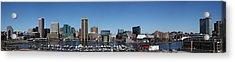 Baltimore Inner Harbor Acrylic Print