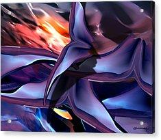 Bats Acrylic Print by Christian Simonian