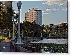 Beautiful Downtown Lakeland Acrylic Print