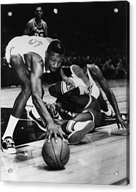 Bill Russell (1934- ) Acrylic Print by Granger