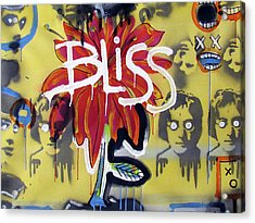 Bliss Is The Word Acrylic Print by Robert Wolverton Jr