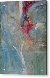 Acrylic Print featuring the painting Bloom by John Fish