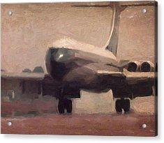 Boac Vc10 Landing 5 Acrylic Print