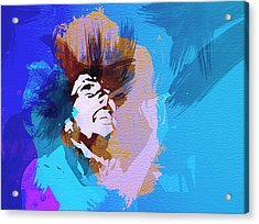 Bob Marley 3 Acrylic Print by Naxart Studio