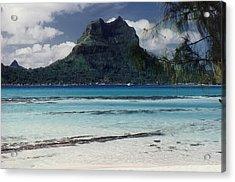 Acrylic Print featuring the photograph Bora Bora by Mary-Lee Sanders