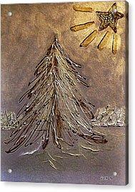 Bright Star For Light Acrylic Print by Marsha Heiken