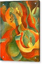 Broken Fiddle Study Acrylic Print