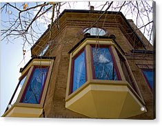 Building Looking Up Acrylic Print by Terry Thomas