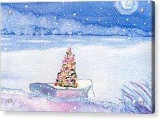 Cape Cod Christmas Tree Acrylic Print by Joseph Gallant