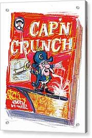 Capn Crunch Acrylic Print by Russell Pierce