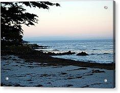 Carmel Beach Awakes Acrylic Print by Harvey Barrison